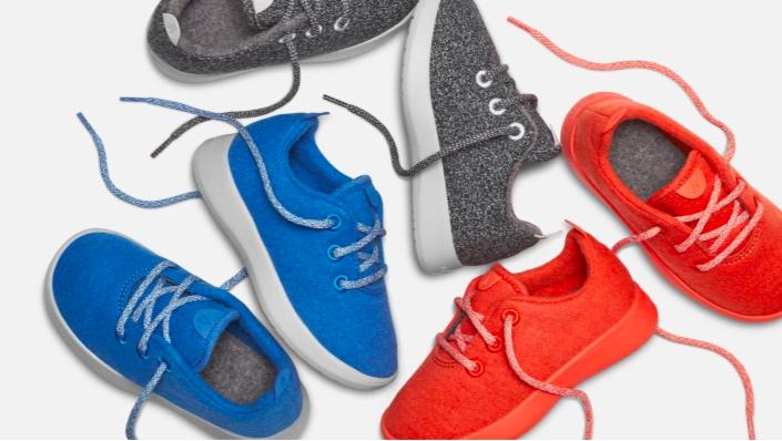 Allbirds launches a kids shoe line