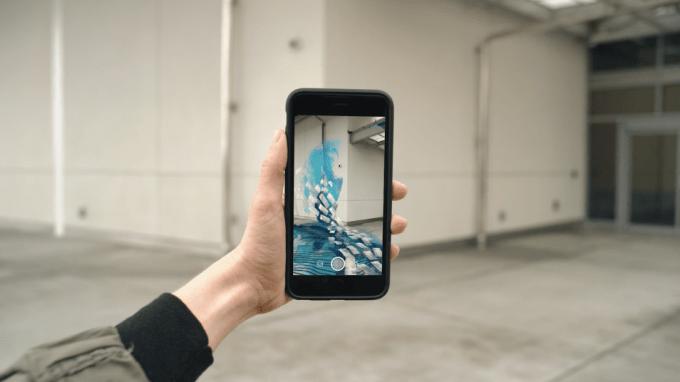 Snapchat To Launch Augmented Reality Art Platform Tomorrow Techcrunch