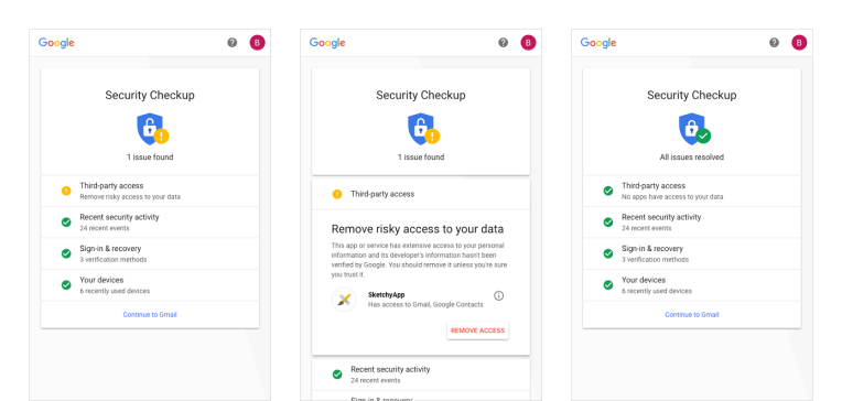 google revamps its security checkup feature with personalized