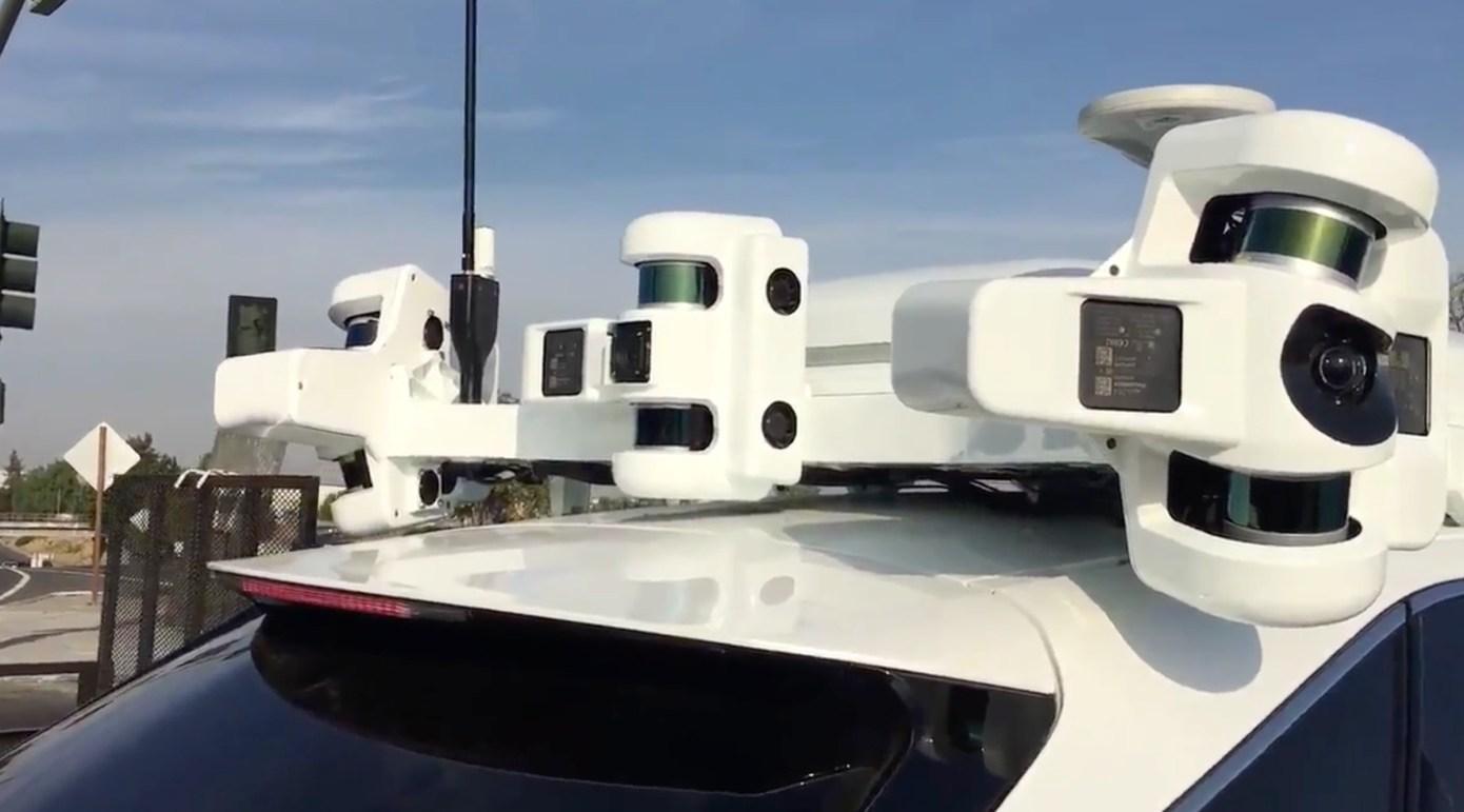 Apple Sensorik auf Fahrzeug