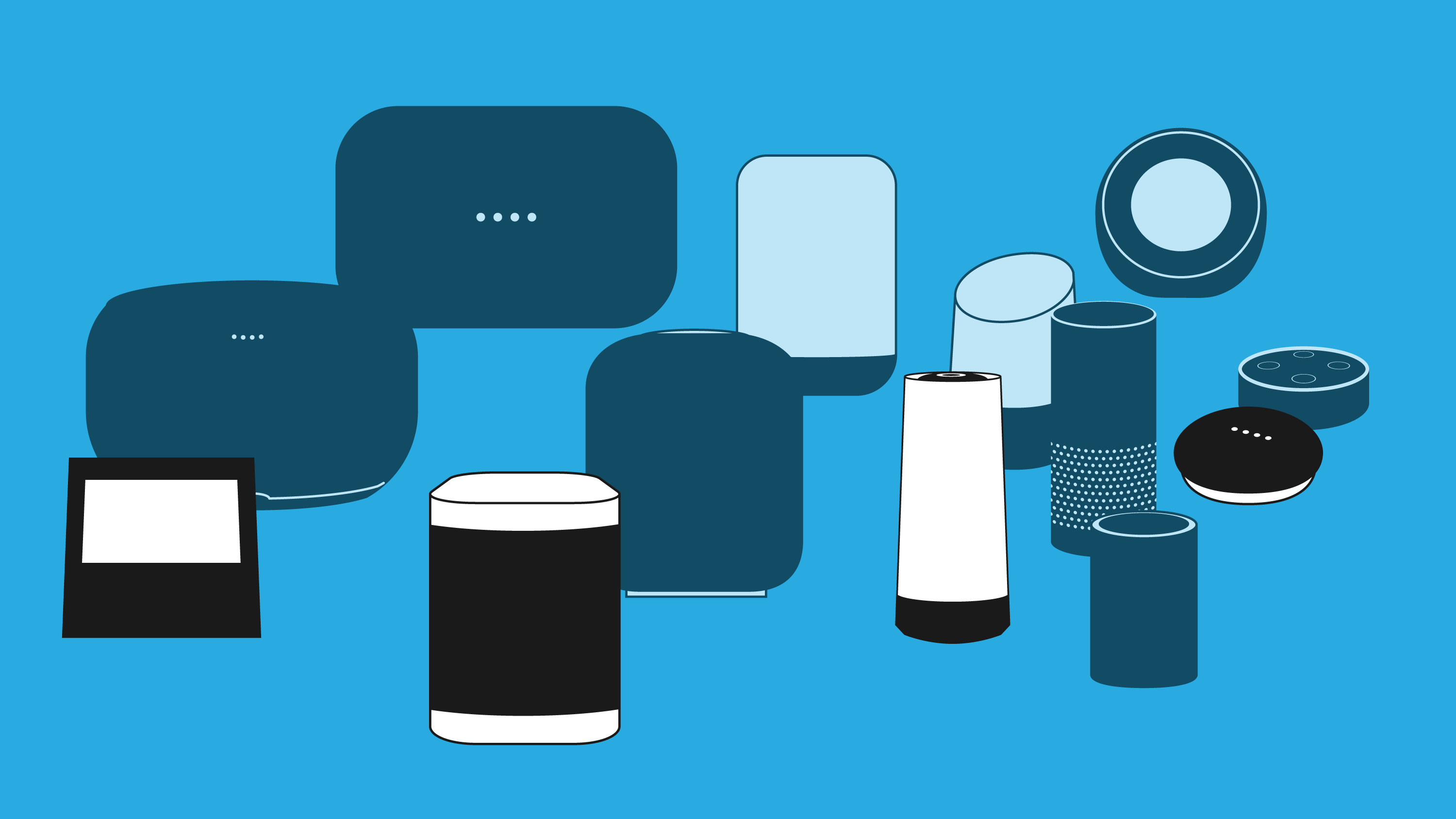 Comparing Alexa, Google Assistant, Cortana and Siri smart