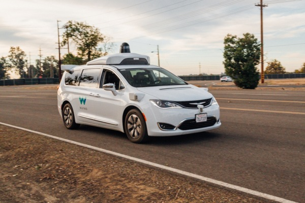 Waymo Applies to Put Autonomous Cars on CA Roads Without Safety Drivers