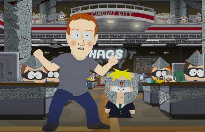 South Park slams Facebook for selling fake news | TechCrunch