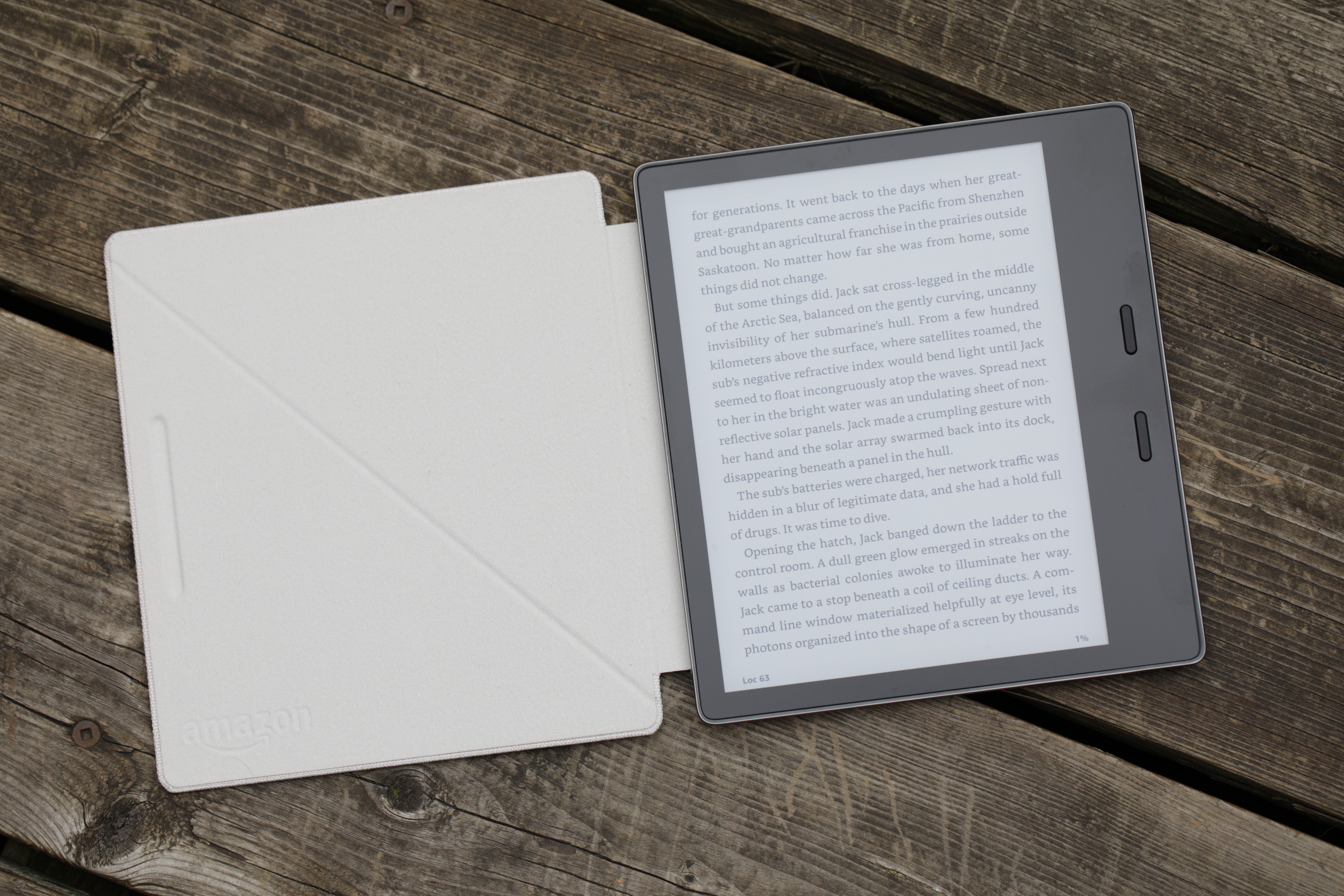 The new Kindle Oasis is my dream e-reader | TechCrunch