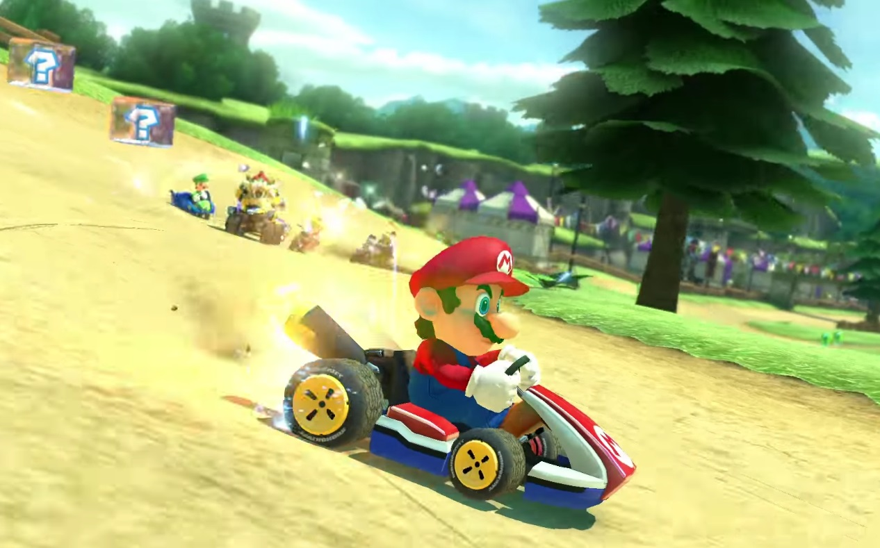 Nintendo's Mario Kart mobile game won't launch until the summer