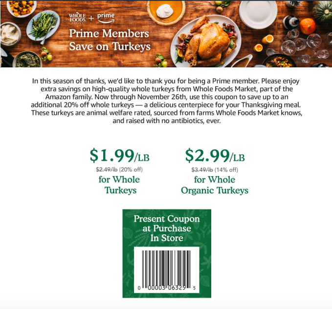 The grocery chain also introduced a new wave of price cuts across items,  including staples and holiday favorites, it says.