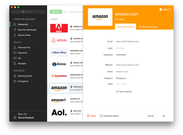 Dashlane universal password manager comes to Linux