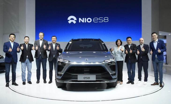Chinese Tesla Rival Nio Files To Raise 18 Billion In Us Ipo