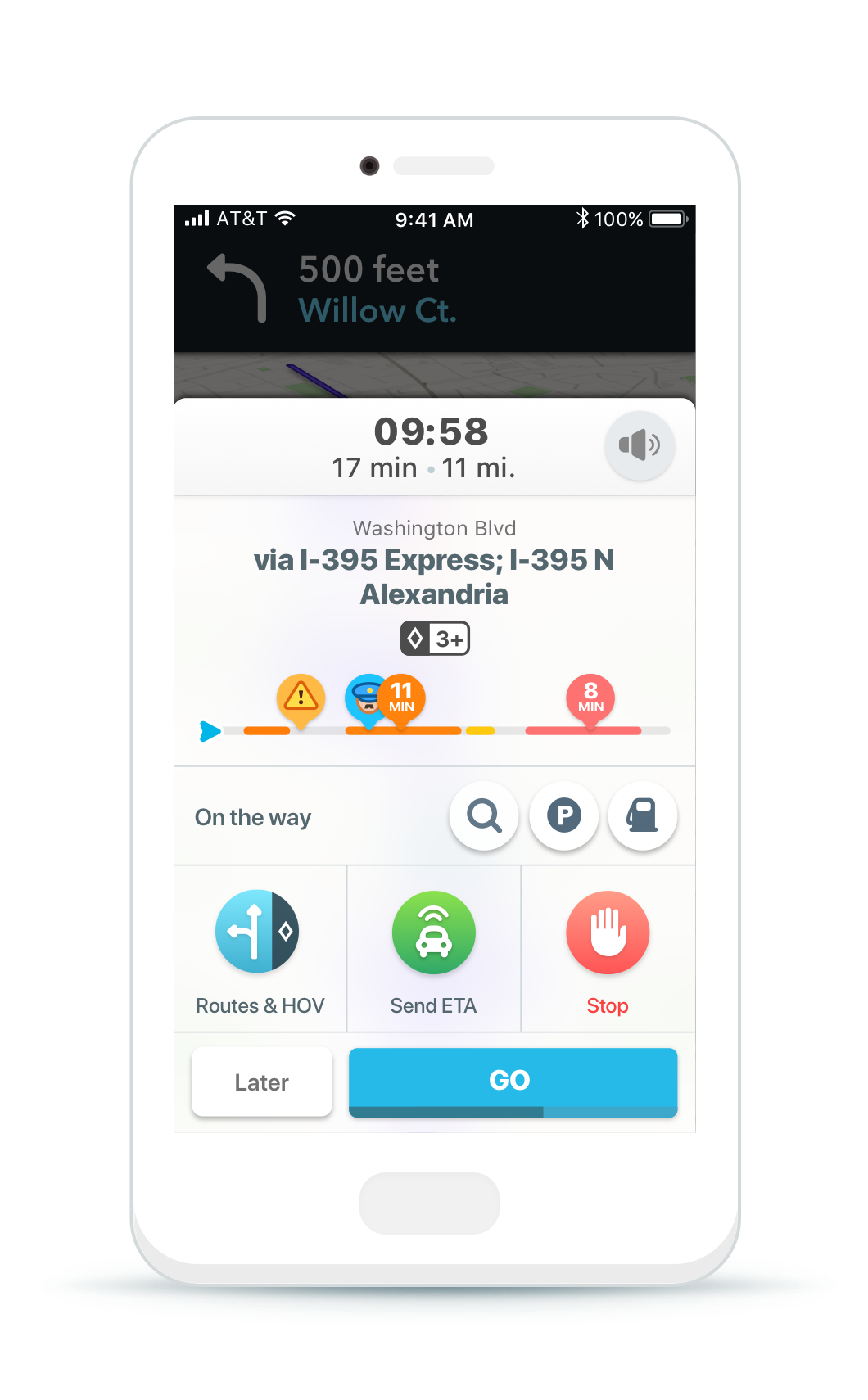 Waze gains support for HOV lanes, motorcycles and voice