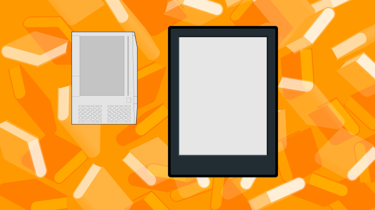 A decade of amazon kindle techcrunch it was big and clunky and kind of ugly with an awkward physical keyboard and 250 mb of on board storage priced at a lofty fandeluxe Images