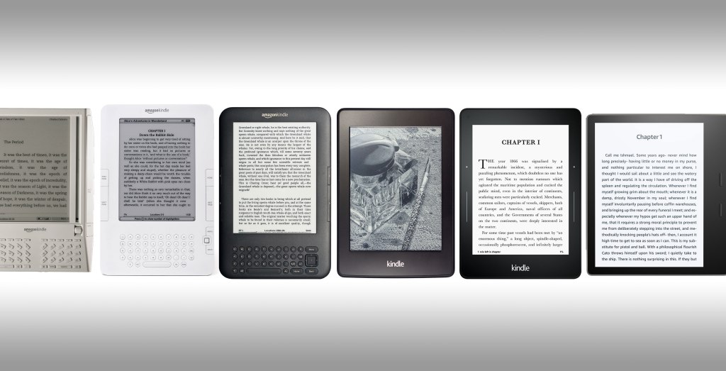 75501b59231304 How the Kindle was designed through 10 years and 16 generations | TechCrunch