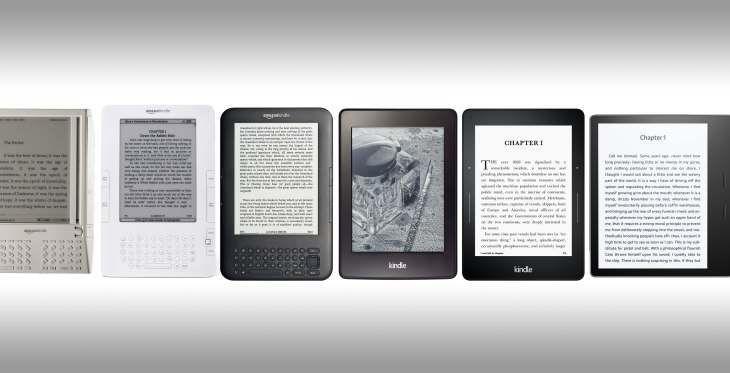How the Kindle was designed through 10 years and 16