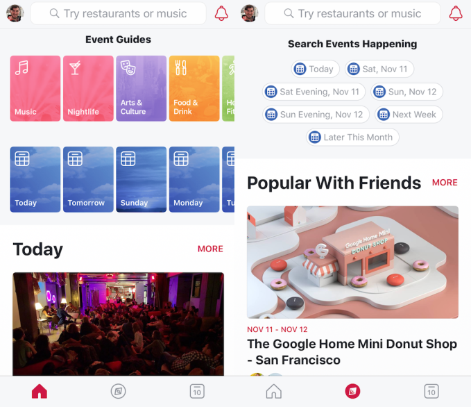 Facebook relaunches Events app as Facebook Local, adds bars