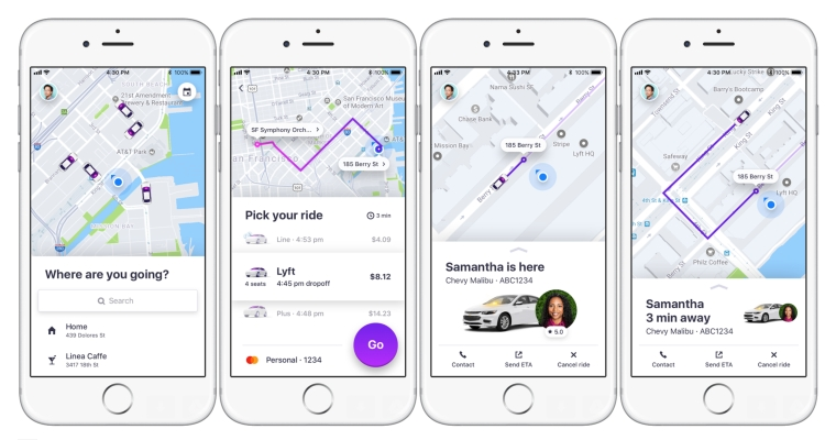 Image result for Lyft app