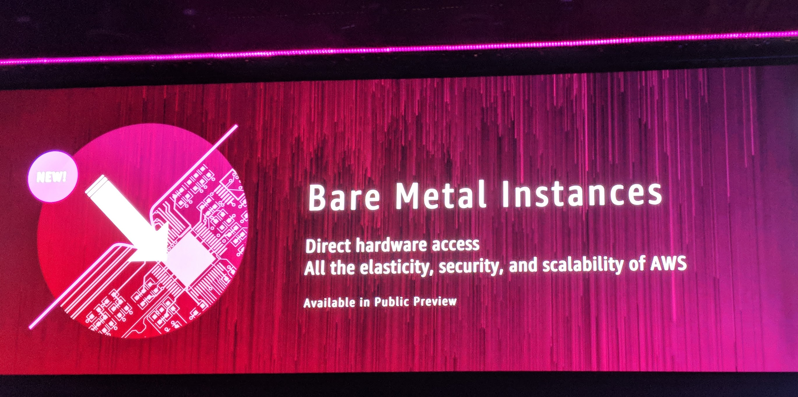 AWS launches bare metal instances | TechCrunch