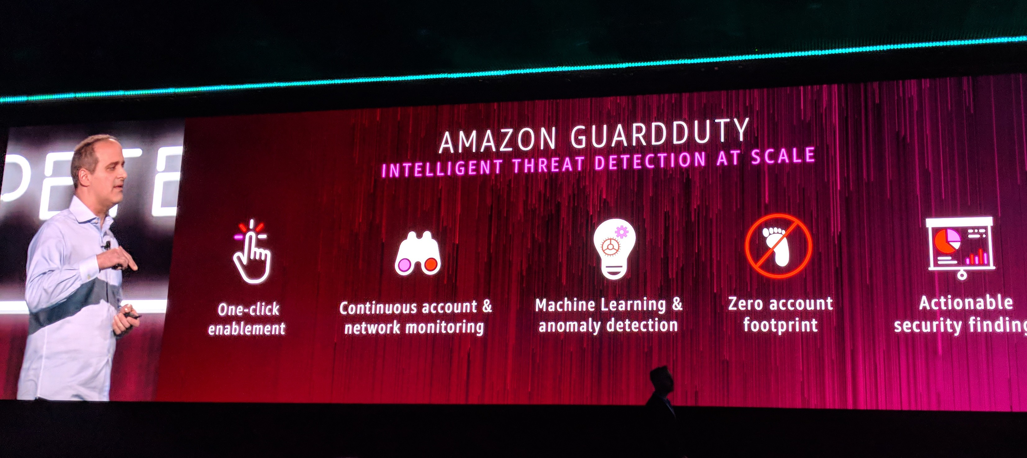 AWS launches GuardDuty, its new intelligent threat detection