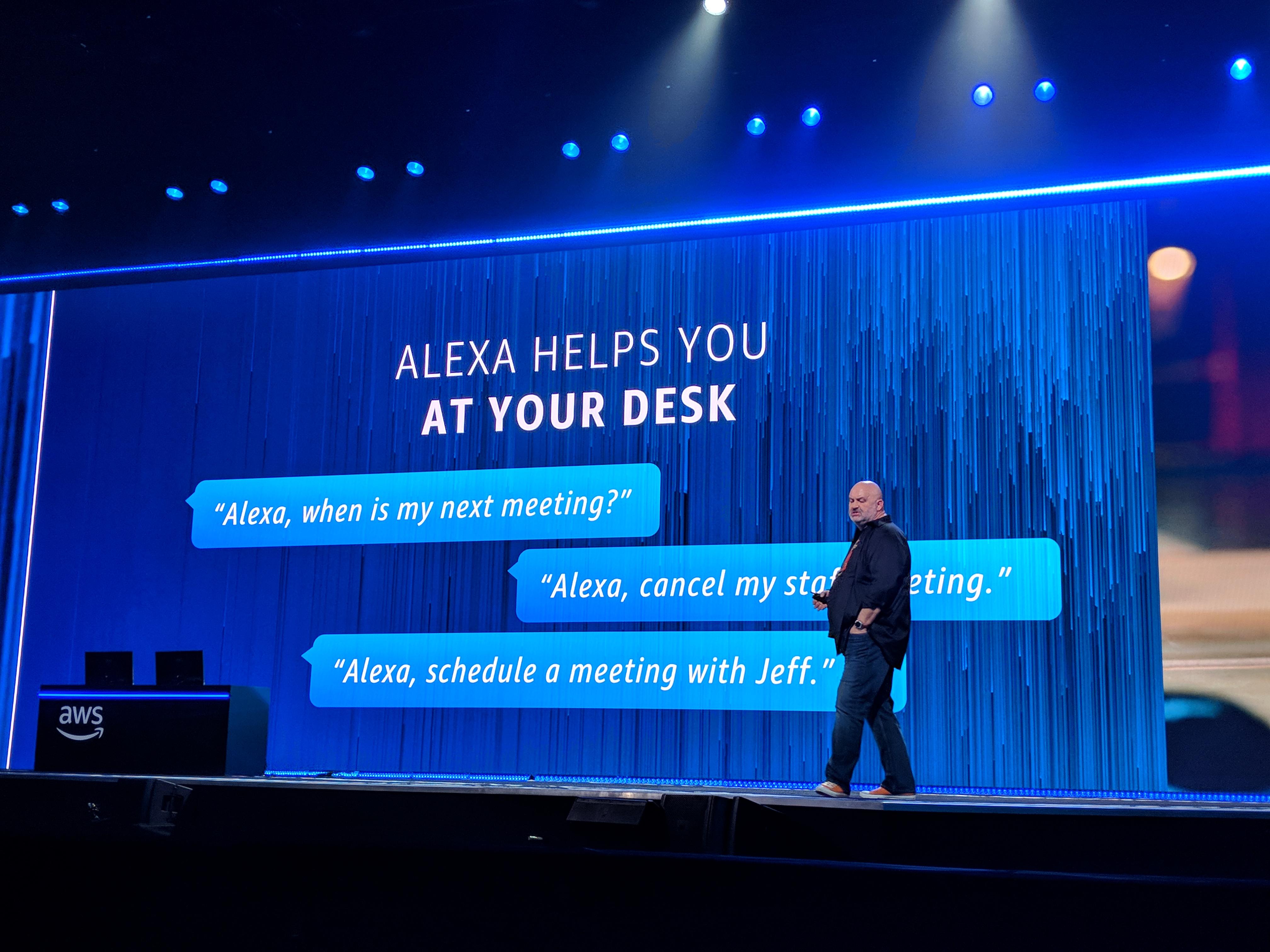 Amazon is putting Alexa in the office | TechCrunch