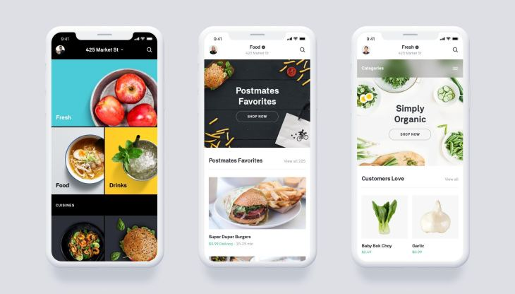 Postmates launches grocery service, scheduled deliveries and
