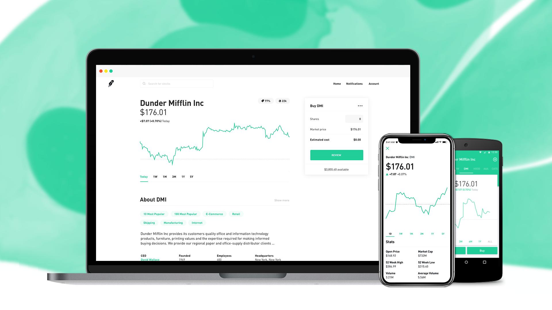Can the robinhood app trade binary options