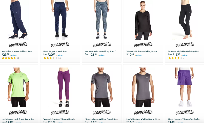 Amazon Expands Into Private Label Sportswear And Its First Home