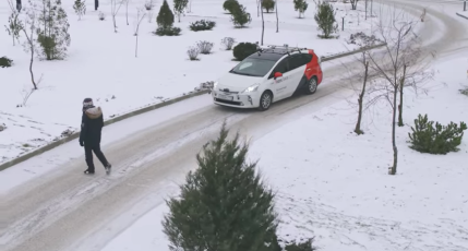 Yandex takes its self-driving test cars out for a spin in