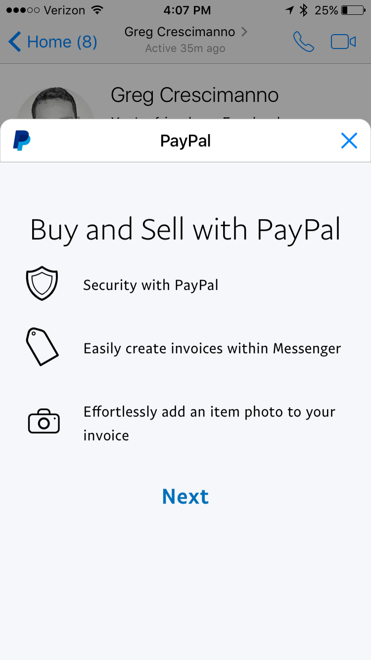 Sellers Can Now Invoice Buyers Through PayPals New Chat Extension - What is an invoice paypal
