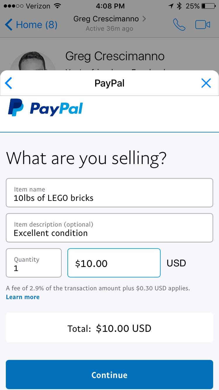 Sellers Can Now Invoice Buyers Through PayPals New Chat Extension - How do i send an invoice through paypal