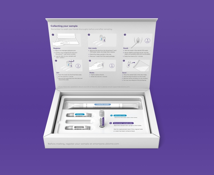 uBiome launches an at-home women's health test for HPV, STI's and