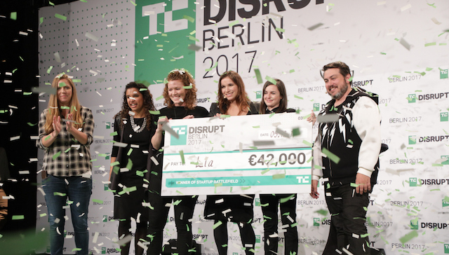 Don't wait: Apply to Startup Battlefield at Disrupt Berlin 2018