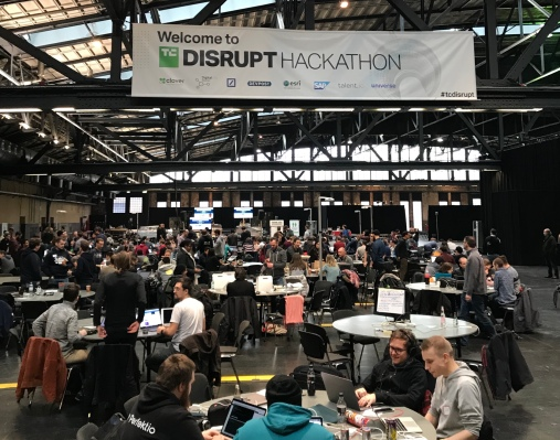 Only 100 seats left: Apply to hack at the TC Hackathon at Disrupt SF – TechCrunch