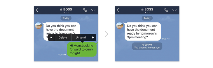 Line adds unsend for recalling missent messages | TechCrunch
