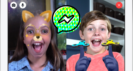 Facebook 'Messenger Kids' lets under-13s chat with whom parents