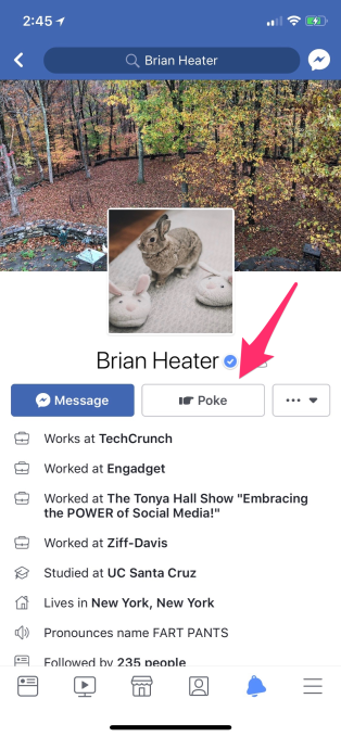 how to find who poked me in facebook