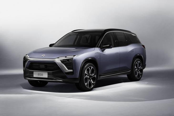 Nio Launches Its Es8 All Electric Suv In China