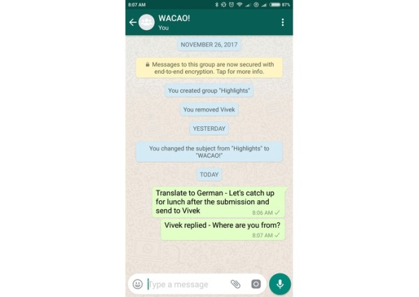 WACAO is an assistant that can summarize and translate your