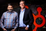 CAMBRIDGE, MA - NOVEMBER 24: Dharmesh Shah and Brian Halligan are the founders of HubSpot, the Cambridge-based inbound marketing firm that had a monster initial public offering in October. (Photo by Dina Rudick/The Boston Globe via Getty Images)