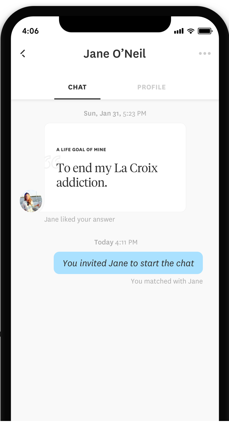 How to start a chat on dating sites