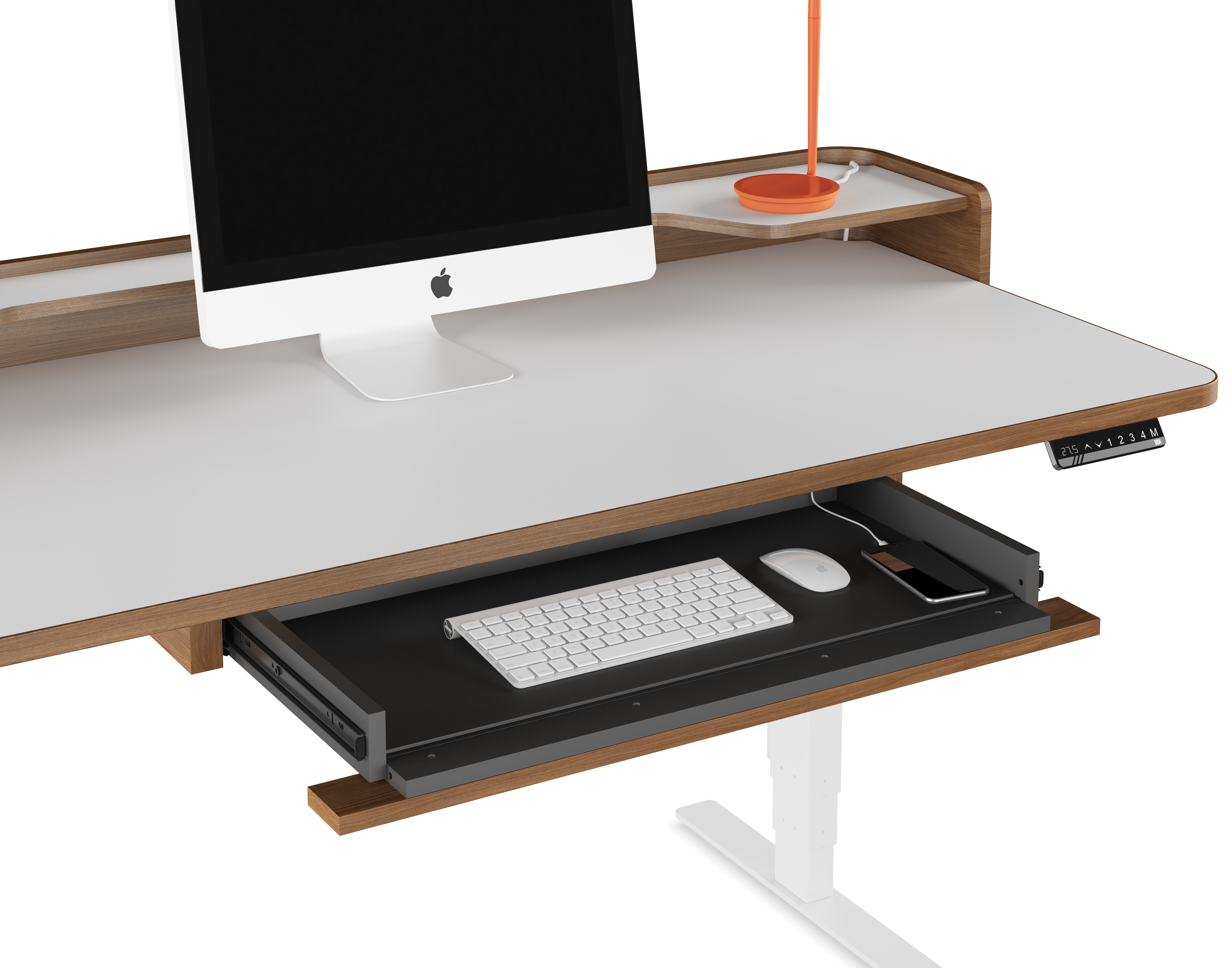 black cado cupboard back stamford modern duo closed desk toffee office bdi ct furniture taupe
