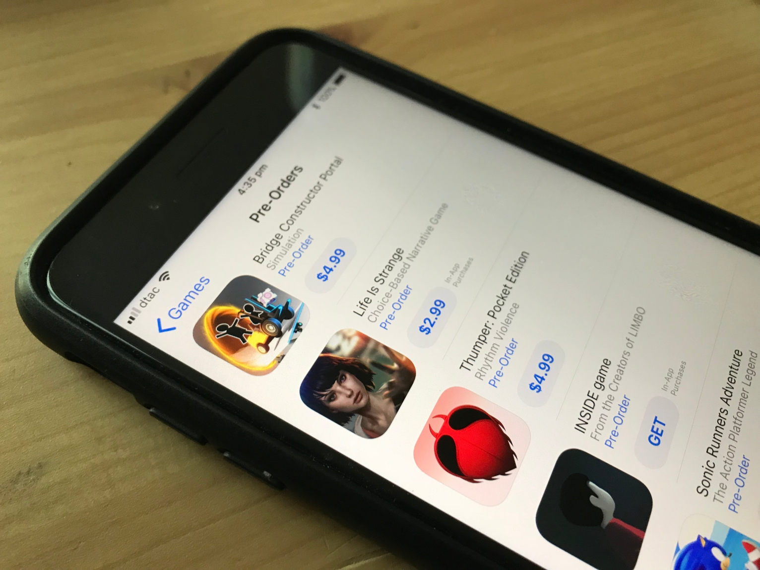 Apple's App Store now lets you pre-order iOS apps and games before