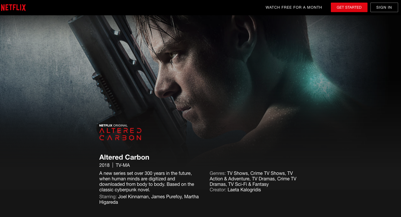 New Altered Carbon trailer thickens the plot for Netflix's new sci