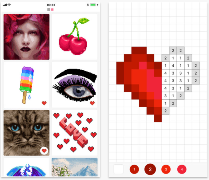 Pixel Art Coloring Book Apps Are The Newest App Store Craze