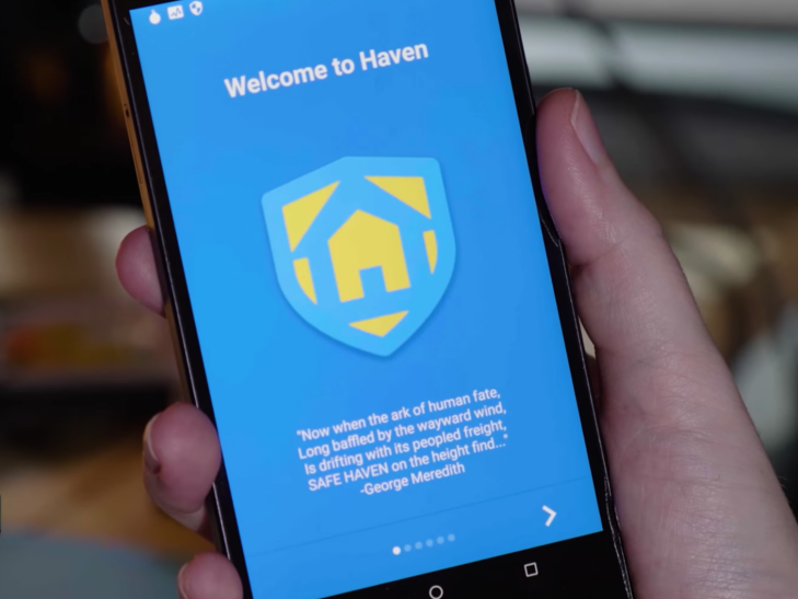 Edward Snowden's new app turns any Android phone into a