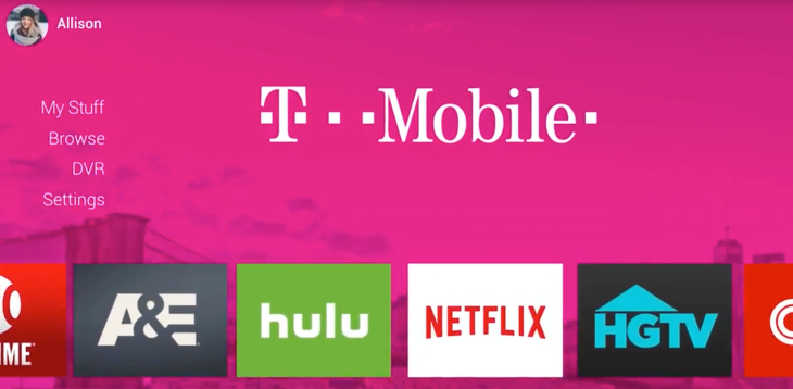 T-Mobile plans pay TV service in 2018 fueled by Layer3 TV