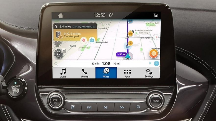 ford cars with sync 3 are getting waze support techcrunch. Black Bedroom Furniture Sets. Home Design Ideas