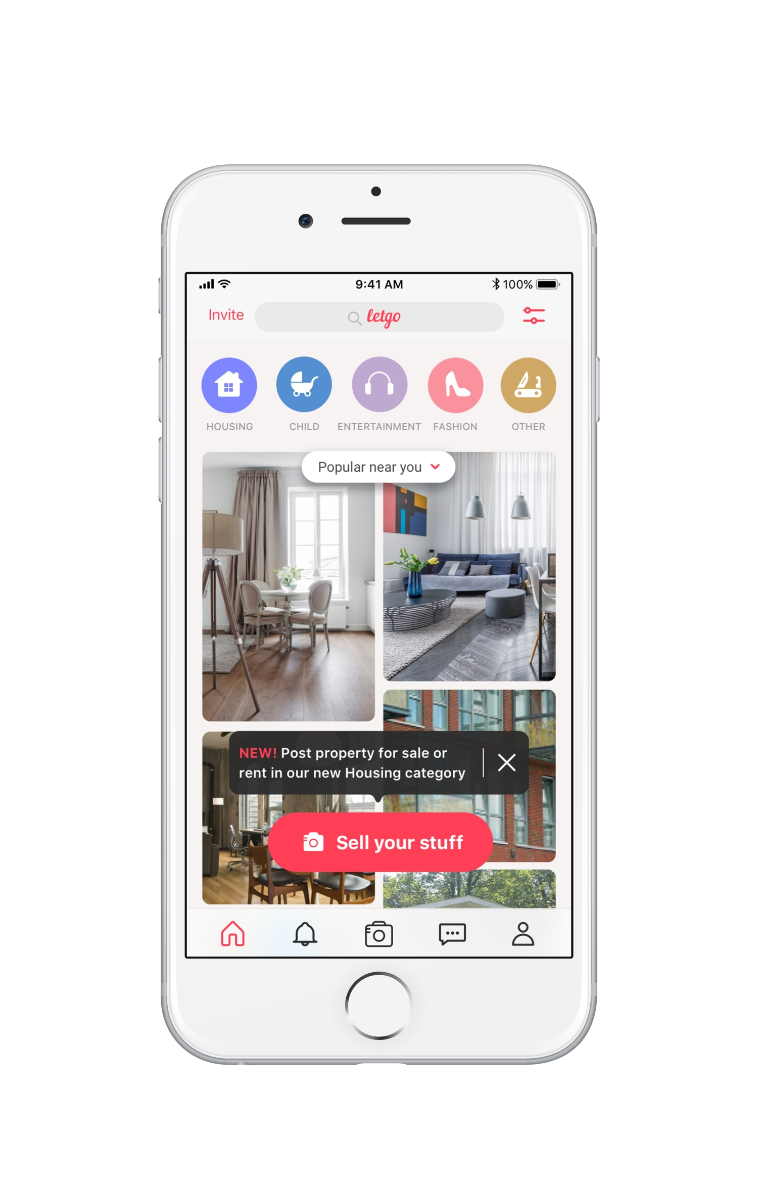 Letgo takes on Craigslist with addition of housing listings | TechCrunch