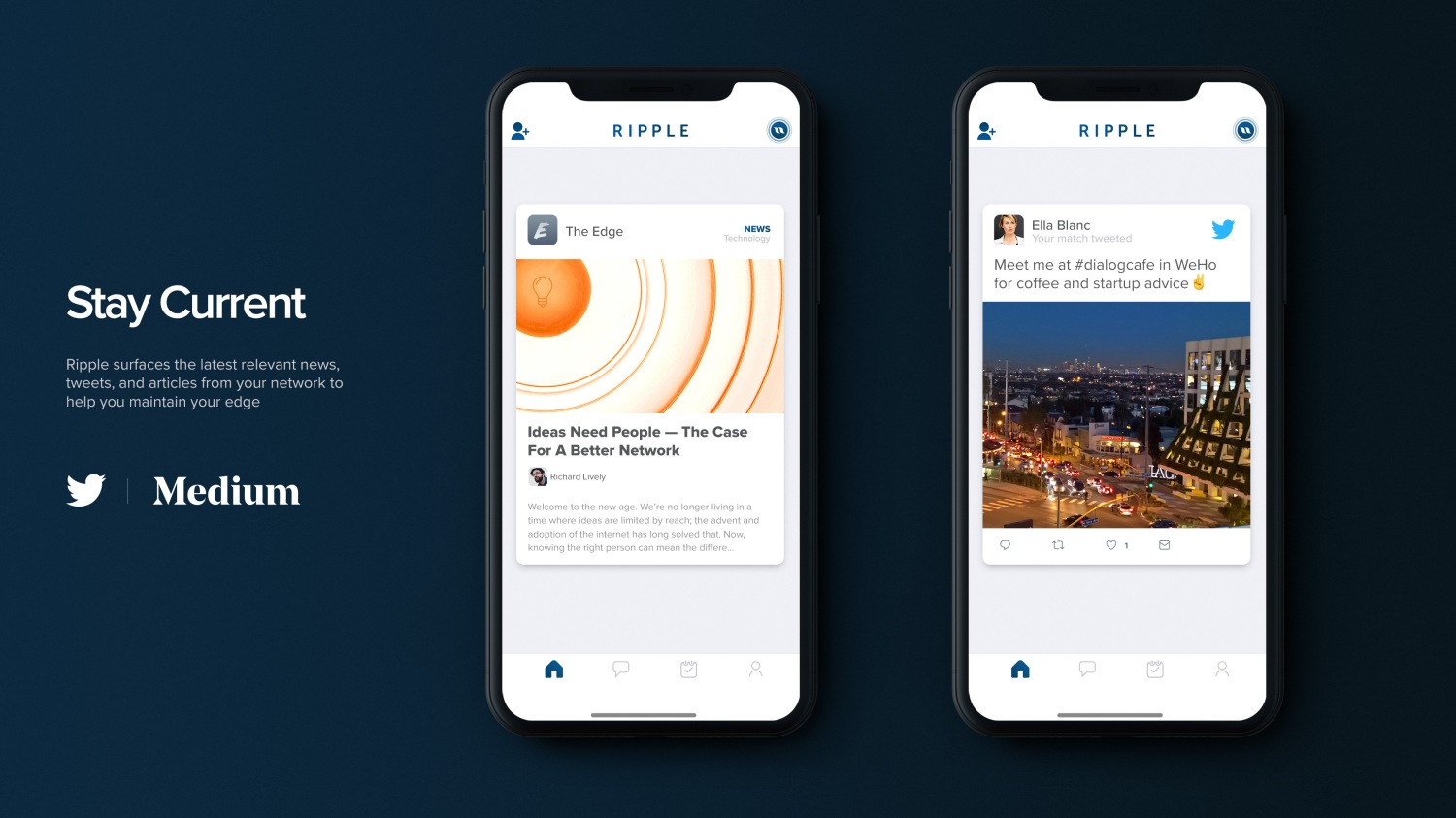 Ripple, a Tinder spin-off backed by Match, launches app for