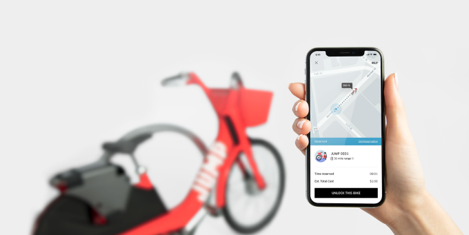 Uber fires up its own traffic estimates to fuel demand beyond cars bikeshare newsroom 2x