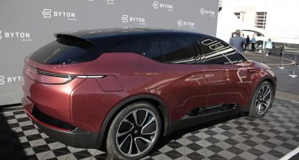 Chinese Electric Car Startup Byton Raises 500 Million