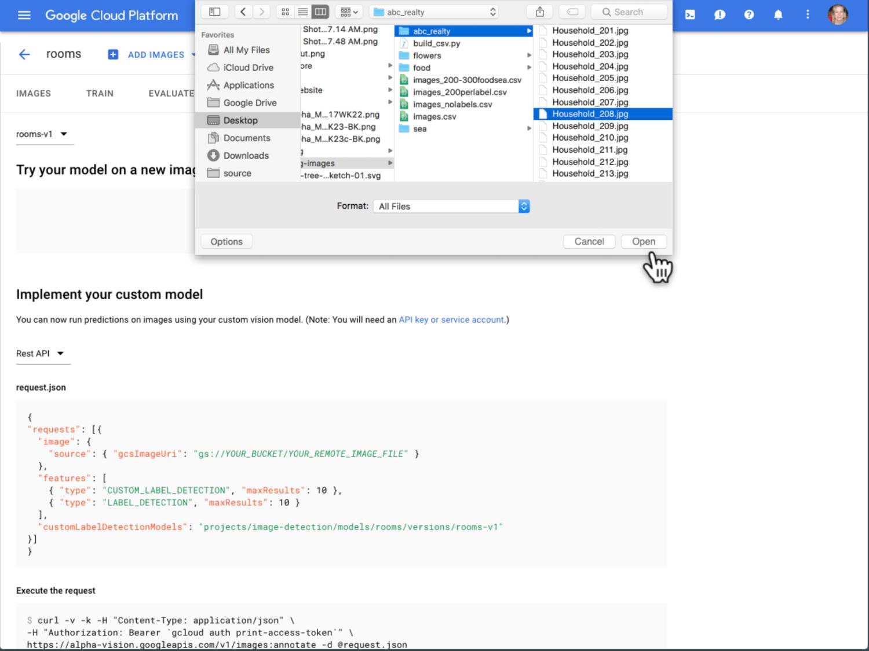 Google's AutoML lets you train custom machine learning models