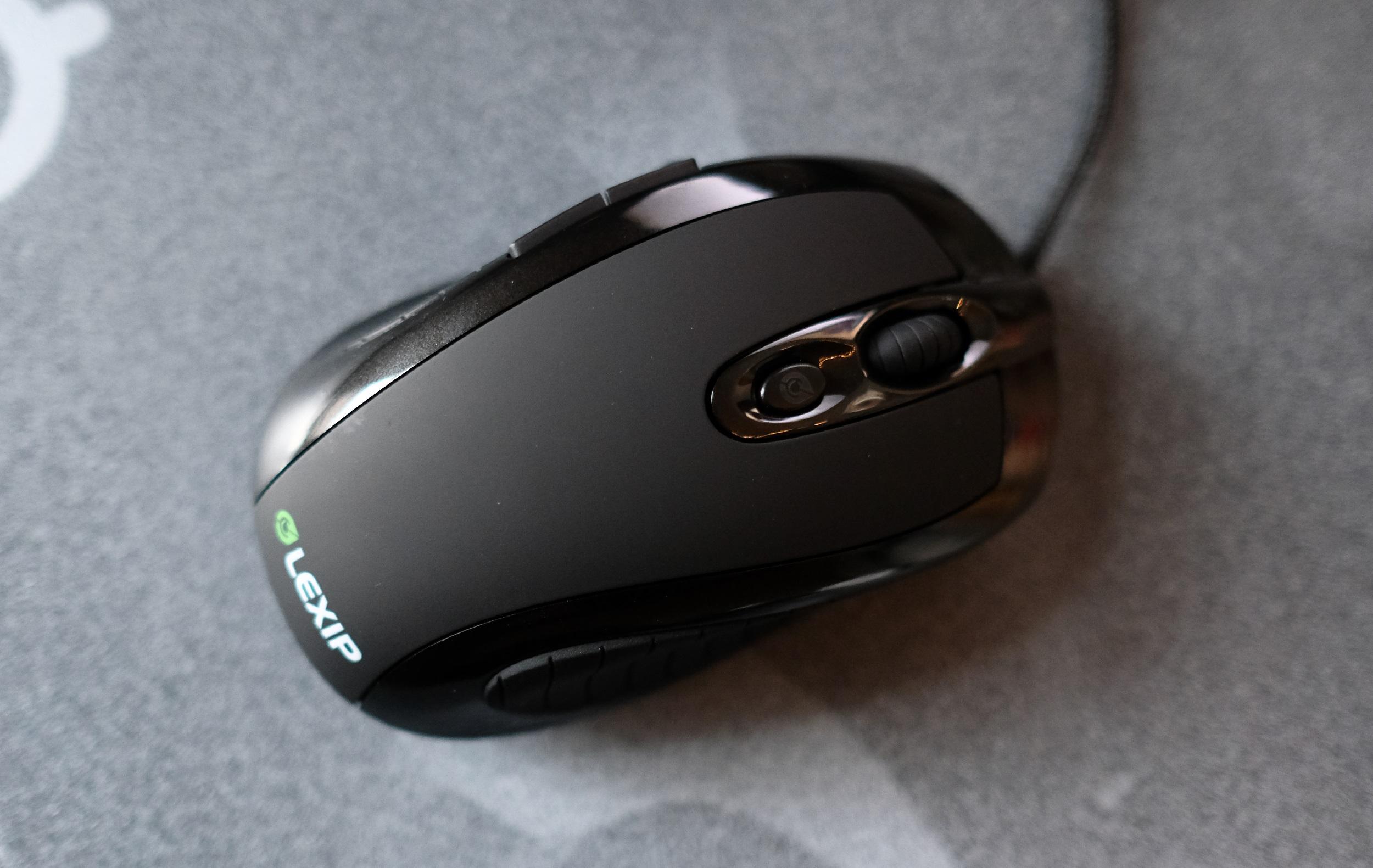Lexip's joystick-mouse combo is a strange but promising